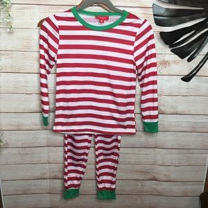 Family PJs by Macy's striped long sleeves Pj set 8
